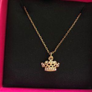 Juicy Couture Tiara/Crown Necklace